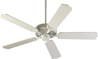 "Quorum Capri 52"" Fan- Studio White"