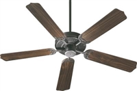 "Quorum Capri 52"" Fan- Old World"