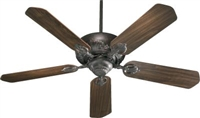 "Quorum Chateaux 52"" Fan- Toasted Sienna"
