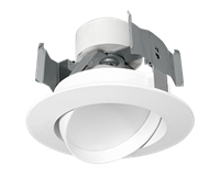 "RAB Economical Retrofit Downlight Round 4"" Adjustable 11W"