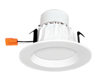 "RAB Economical Retrofit Downlight Round 4"" Standard 9W"