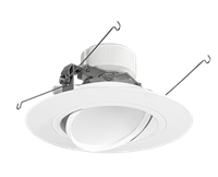 "RAB Economical Retrofit Downlight Round 6"" Adjustable 14W"