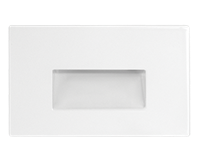 RAB STEPLIGHT RECESSED HORIZONTAL 3W 120V 2700K WHITE