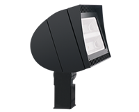 RAB LED Floodlight FXLED 105W Standard Trunnion Bronze 5000K (Cool)