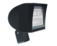 RAB LED Floodlight FXLED 150W Dimmable Trunnion bronze 5000K (Cool)