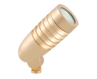RAB LED Floodlight 5W Brass 3000K (Warm)