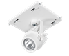 1 Fixture Multi-Head Gear Tray 40 Degree Reflector/0-10V Dimmer- 12W/2700K (Residential Warm)
