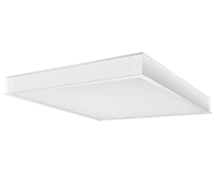 2' x 2' Recessed LED Panel Emergency Battery Back-Up Dimmable 41W/4000K- Neutral