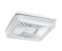 RAB PORTO CEILING 14IN 55W COOL LED 120-277V POLYCARB LENS WHITE