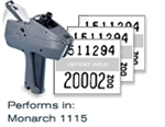 monarch 1115 price marker labels