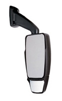 713966 Velvac RV Mirror-Passenger Side- Black
