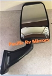 713986 Velvac Black RV Mirror Passenger Side