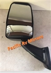 713987 Velvac Black RV Mirror-Driver Side