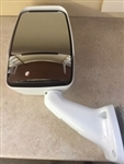 713989 Velvac White RV Mirror - Driver Side