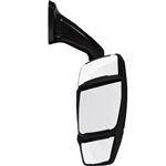 714392 Velvac Black Passenger Side Mirror