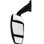 714393 Velvac Black Driver Side Mirror