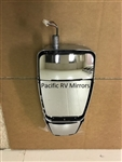 714394 Velvac RV Chrome Triple Mirror Head