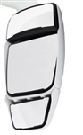 714420 Velvac White Passenger Triple Glass Mirror Head