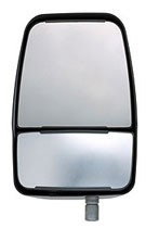 714579 Velvac RV Driver Side Mirror in Black
