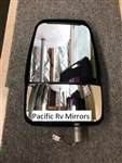 714581 Deluxe Left Side Mirror Head Assembly, Black - Free Shipping