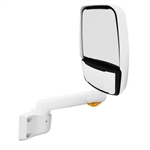 714758 Velvac RV Mirror-Passenger Side, White