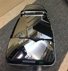 714993 Velvac Rv Chrome Triple Glass Mirror Head Only