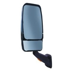 715135 Velvac Black RV Mirror Driver Side With Turn Signal