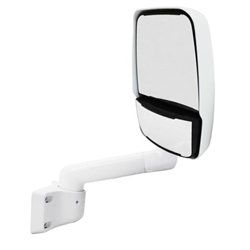 715146 Velvac RV Mirror Passenger Side White 2030 Assembly