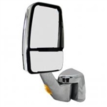 715263 Velvac RV Mirror Chrome Driver Side