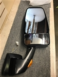 715266 Velvac RV Black Passenger Mirror Revolution Fold-A-Way Base with VMAX Head