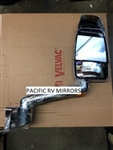 715292-4 Velvac RV Mirror-Passenger Side Chrome Replaces 714866-3