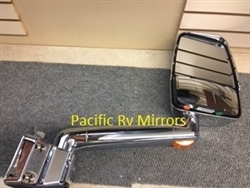 715370 Velvac RV Mirror Passenger Side, Chrome (11R)