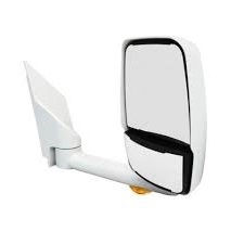 "715444 Velvac Mirror - 2020 Deluxe Head, White,Lighted,96"" Body,Right Side"