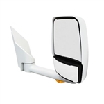 "715448 Velvac Mirror - 2020 Deluxe Head, White, 102"" Body,Right Side"