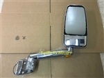 715488 Velvac RV Mirror Passenger Side Chrome 2003-2007 Four Winds Mandalay - In Stock