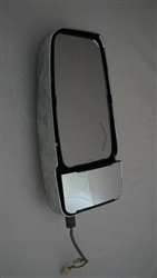 715554 Velvac Vmax Mirror Head Passenger Side Chrome Signal on Glass