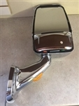 715568 Velvac RV Mirror Passenger Side, Chrome  Heated Remote Controlled