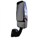 715638 Velvac RV Mirror Passenger Side Black