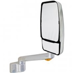 715648 Velvac RV Mirror Passenger Side, Chrome