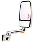 715735 Velvac RV Mirror Passenger Side Black - 2030,R,VMAX,H/M,WINN,14LTD,BK/CH,SO