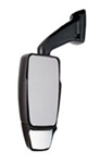 715747 Velvac RV Mirror Model 2025 w/ Full Flat Glass & Auxiliary Convex - Inverted