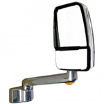 715830  Velvac Chrome RV Mirror - Passenger Side