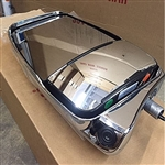 719111 - Driver Side Deluxe Mirror, MLEM Camera, Chrome
