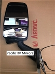 Velvac 719151 Black Driver Side Deluxe Mirror w/ LEM Camera 2025 Base