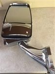 Velvac 719155 Chrome Driver Side Deluxe Mirror w/ LEM Camera 2025 Base