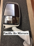 Velvac 719157 White Driver Side Deluxe Mirror w/ LEM Camera 2025 Base