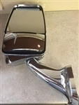 719215 Velvac Driver Side Mirror All Chrome With Camera