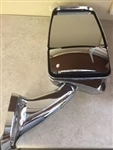 Velvac 719216 Chrome Passenger Side Deluxe Mirror w/ LEM Camera 2025 Base