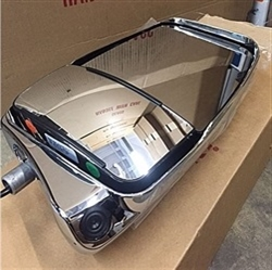 719914 Velvac Passenger Side Deluxe Mirror, Color Camera, Chrome