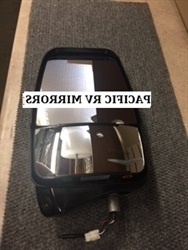 Velvac 719925 Driver Deluxe Mirror Head Black With HCamera